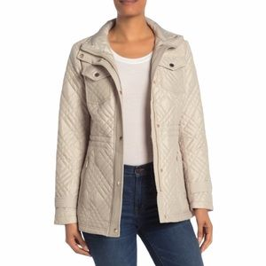 MICHAEL Michael Kors Missy Quilted Anorak Jacket
